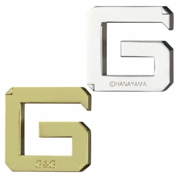 Головоломка Hanayama Двойное Джи/G&G 473748