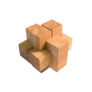 Головоломка Простейший узел из 6 элементов