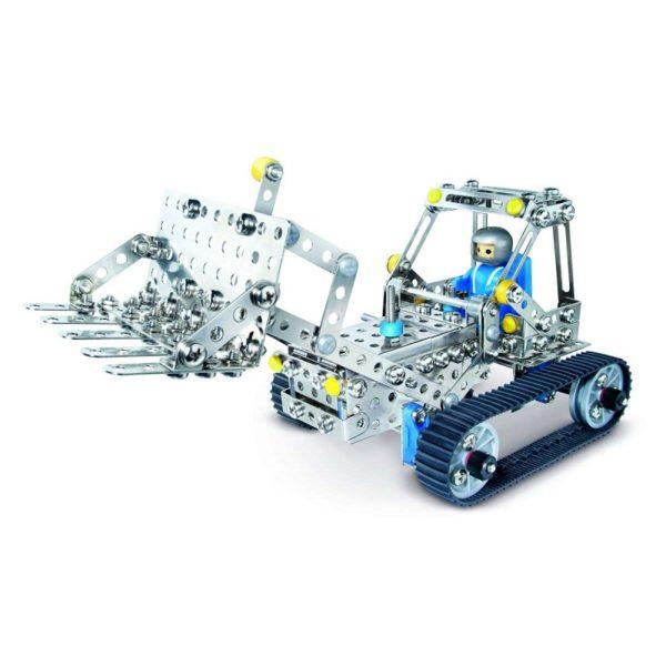 Конструктор EITECH металлический Трактор
