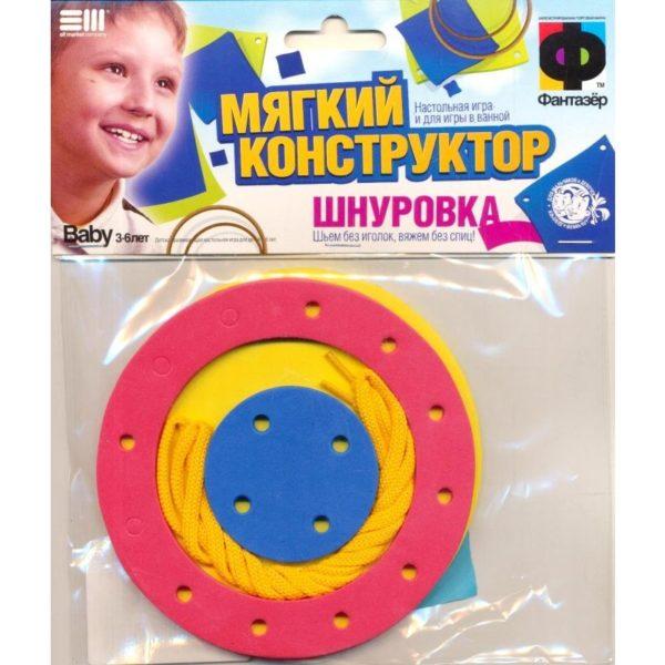 Конструктор-шнуровка Чудо-пуговица