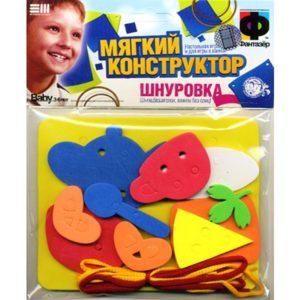 Конструктор-шнуровка Завтрак