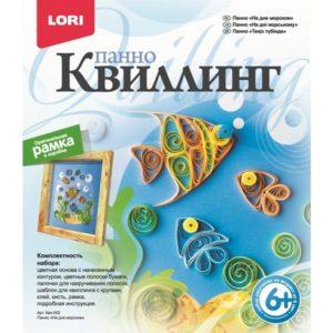 Квиллинг Панно На дне морском (Квл-002) купить недорого в интернет-магазине игрушек с доставкой по Москве. Инструкция, полные характеристики, отзывы, скидки.