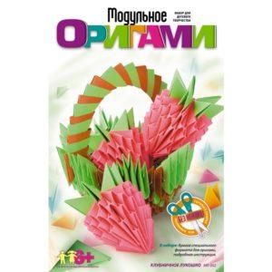 Модульное оригами Клубничное лукошко (Мб-002) купить недорого в интернет-магазине игрушек с доставкой по Москве. Инструкция, полные характеристики, отзывы, скидки.
