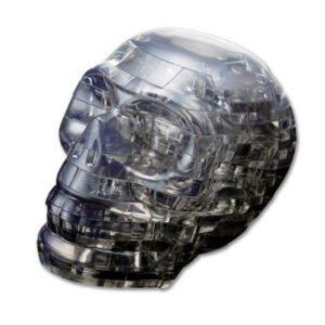 Пазл-3D Головоломка Crystal Puzzle Череп черный