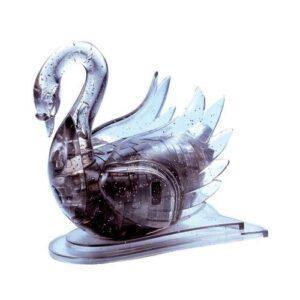 Пазл-3D Головоломка Crystal Puzzle Лебедь черный