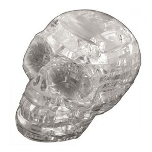 Пазл-3D Головоломка Crystal Puzzle Серебристый Череп