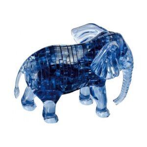 Пазл-3D Головоломка Crystal Puzzle Слон