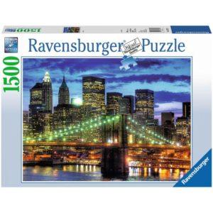 Пазл Ravensburger: Небоскрёбы Нью Йорка (1500 деталей) (16272)
