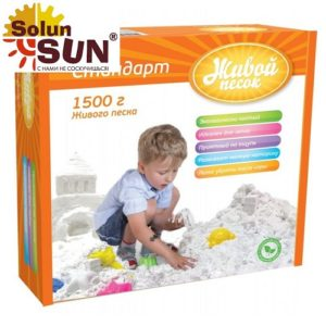 Песок Живой Happy Nation(1.5 килограмм)(2030) - купить по выгодной цене с доставкой по всей России, в магазине детских игрушек.
