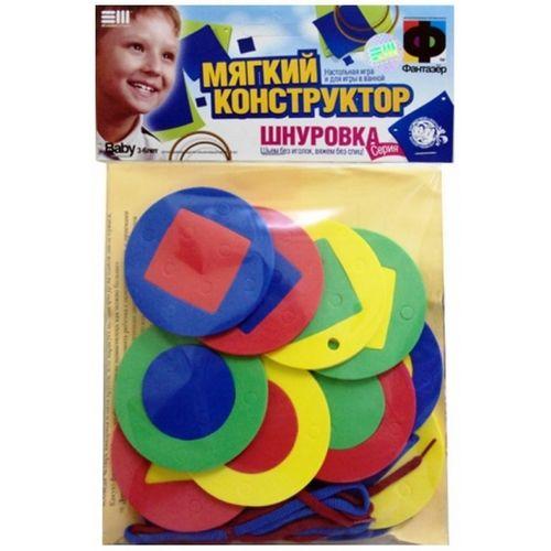 Конструктор-шнуровка Гео-круги 103035