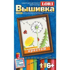 Вышивка крестиком Одуванчик (в-002) купить недорого в интернет-магазине игрушек с доставкой по Москве. Инструкция, полные характеристики, отзывы, скидки.