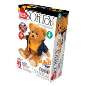 Мягкая игрушка своими руками Мишка в курточке (457051)