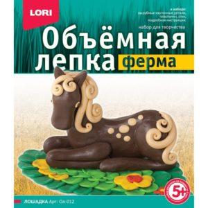 Объемная лепка Ферма Лошадка (Ол-012) купить недорого в интернет-магазине игрушек с доставкой по Москве. Инструкция, полные характеристики, отзывы, скидки.
