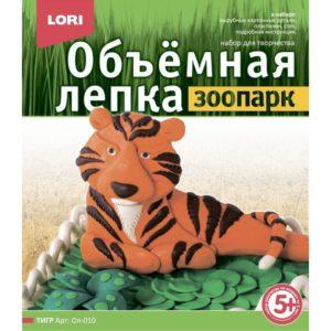 Объемная лепка Зоопарк Тигр (Ол-010) купить недорого в интернет-магазине игрушек с доставкой по Москве. Инструкция, полные характеристики, отзывы, скидки.