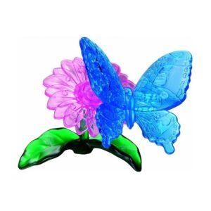 Пазл-3D Головоломка Crystal Puzzle Голубая бабочка