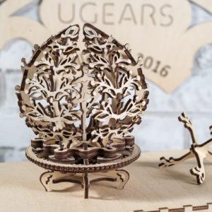 Шкатулка-цветок Ugears