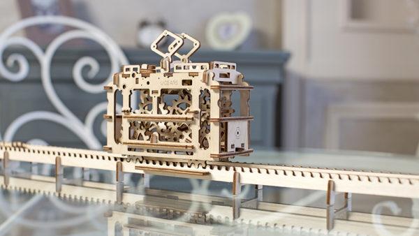 Конструктор 3d пазл ugears Трамвай