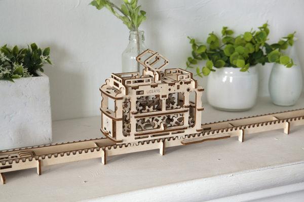 Конструктор-головоломка Трамвайчик ugears