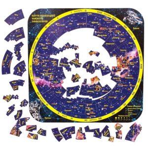 Магнитный пазл Карта созвездий южного полушария(1031)