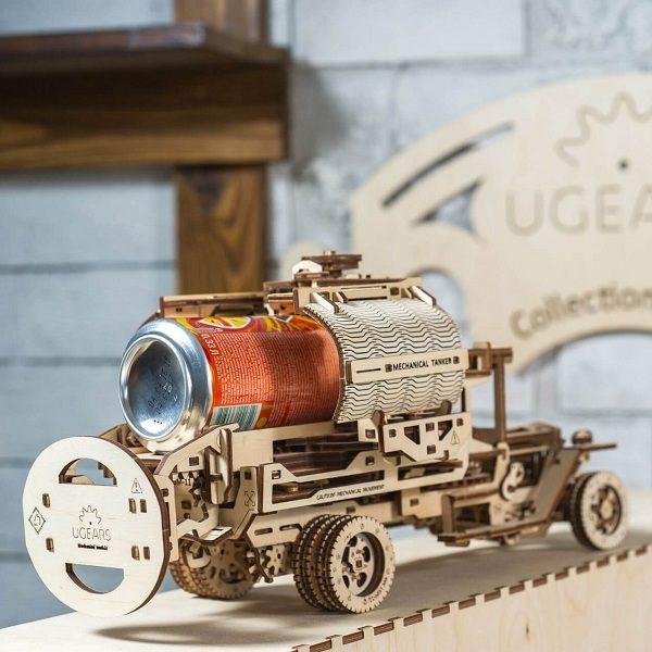 Конструктор-головоломка Ugears — Автоцистерна