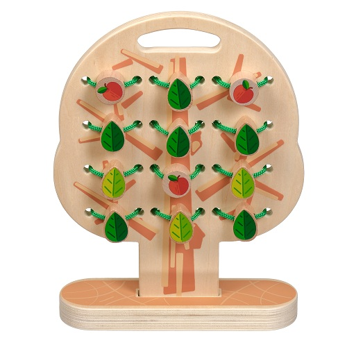 Развивающий набор Дерево-шнуровка(Д104)