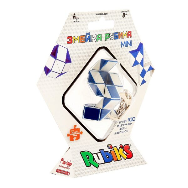 Брелок-головоломка Rubik's Змейка, 24 элемента