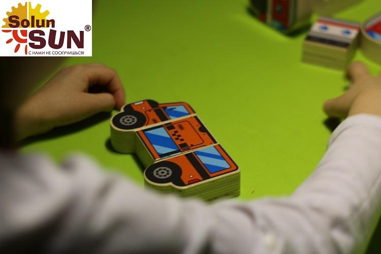 Купить Развивающий пазл Магнитные фигуры Транспорт(Д383) в интернет-магазине детских развивающих игрушек и товаров для детского творчества по выгодной цене.
