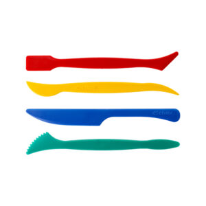 Кинетический пластилин Zephyr (Зефир) Набор стеков для лепки (4шт)