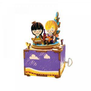 Деревянный 3D конструктор - музыкальная шкатулка Robotime Рандеву - купить в интернет магазине детских развивающих игрушек, подарков, товаров для хобби и детского творчества по выгодной цене.