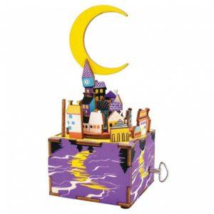 Деревянный 3D конструктор - музыкальная шкатулка Robotime Сон в летнюю ночь - инструкция, описание, характеристики и отзывы. Купить дешево, с доставкой по Москве, самовывоз, пункты выдачи, доставка почтой.