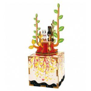 Деревянный 3D конструктор - музыкальная шкатулка Robotime Весна - инструкция, описание, характеристики и отзывы. Купить дешево, с доставкой по Москве, самовывоз, пункты выдачи, доставка почтой.