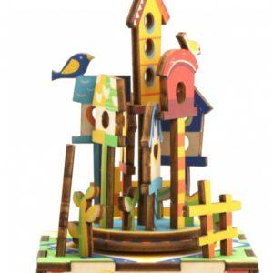 Деревянный 3D конструктор - музыкальная шкатулка Robotime Замок в небесах - купить в интернет магазине детских развивающих игрушек, подарков, товаров для хобби и детского творчества по выгодной цене.