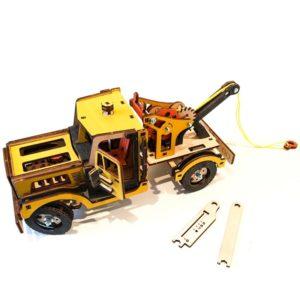 Конструктор 3D деревянный M-Wood Эвакуатор - инструкция, описание, характеристики и отзывы. Купить дешево, с доставкой по Москве, самовывоз, пункты выдачи, доставка почтой.