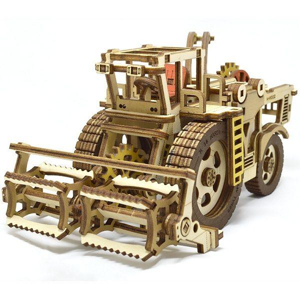 Конструктор 3D деревянный M-Wood Комбайн Hardy - купить по выгодной цене с доставкой по всей России, в магазине детских игрушек.