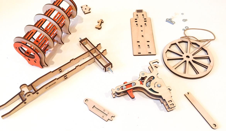 Конструктор 3D деревянный M-Wood Пушка - характеристики, описание, отзывы и инструкция. Купить по выгодной цене в Москве, с быстрой доставкой по всей России.
