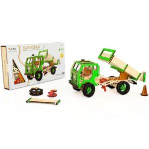 Конструктор 3D деревянный M-Wood Самосвал - купить в интернет магазине детских развивающих игрушек, подарков, товаров для хобби и детского творчества по выгодной цене.