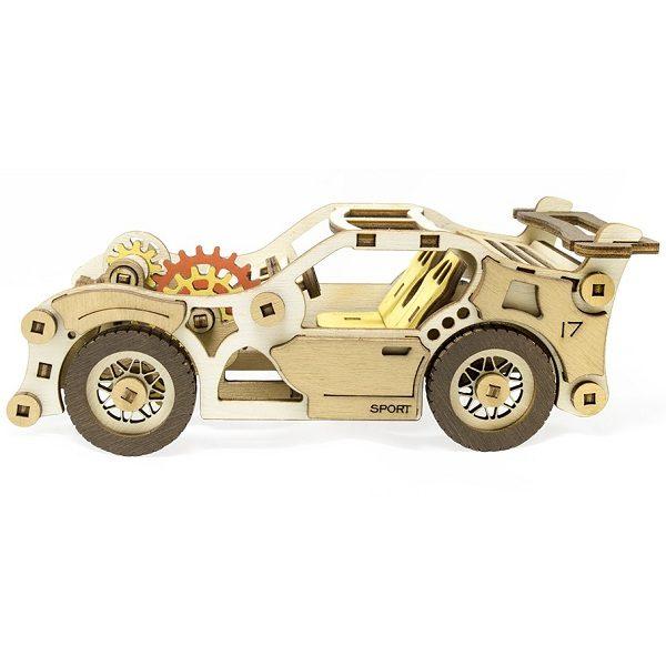 Конструктор 3D деревянный M-Wood Спорткар Velox - купить в интернет магазине детских развивающих игрушек, подарков, товаров для хобби и детского творчества по выгодной цене.