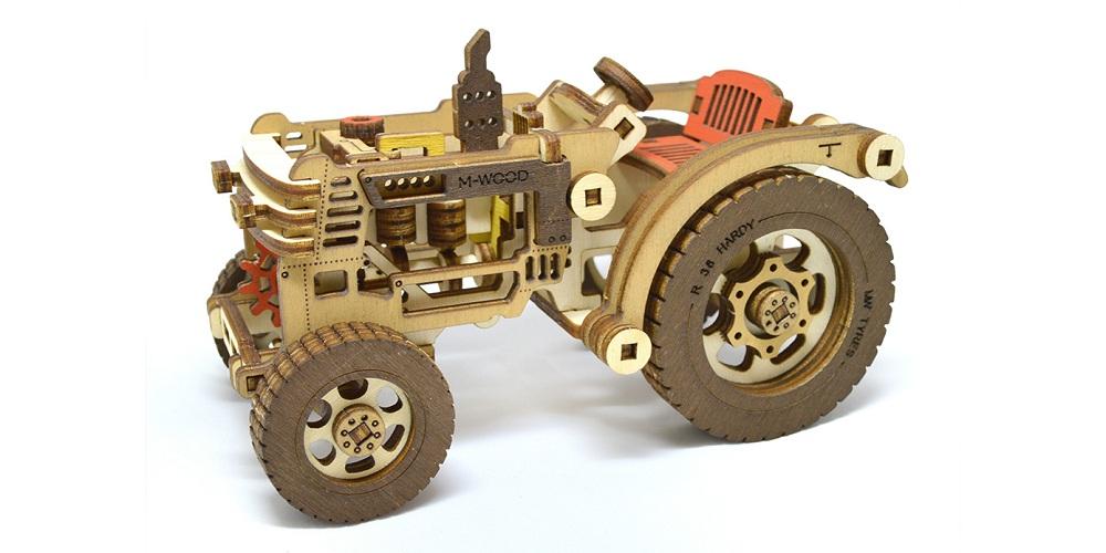 Конструктор 3D деревянный M-Wood Трактор с прицепом Hardy - характеристики, описание, отзывы и инструкция. Купить по выгодной цене в Москве, с быстрой доставкой по всей России.