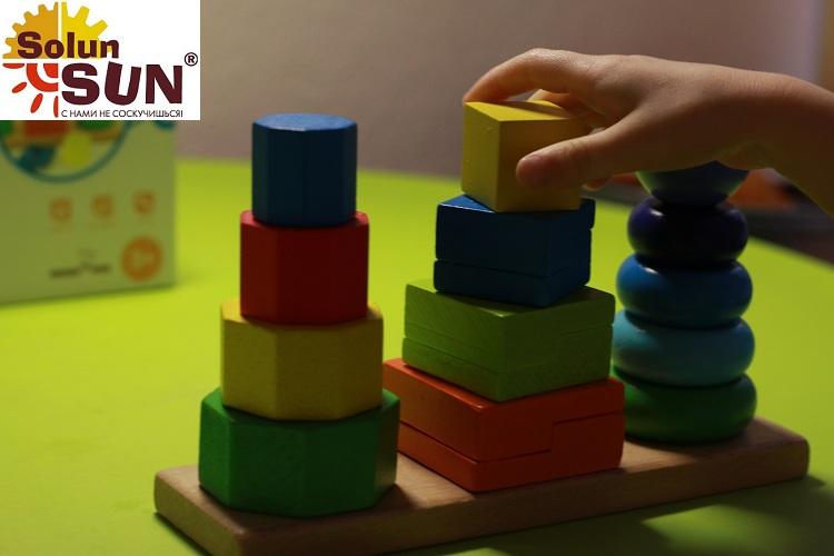 Развивающие пирамидки из дерева(Д037) - характеристики, описание, отзывы и инструкция. Купить по выгодной цене в Москве, с быстрой доставкой по всей России.