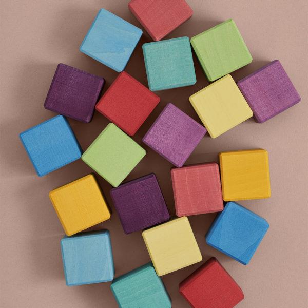 Кубики радужные, 20 шт. Raduga Grez (RG01002) - характеристики, описание, особенности, отзывы и инструкция. Купить по выгодной цене в Москве, с быстрой доставкой по всей России