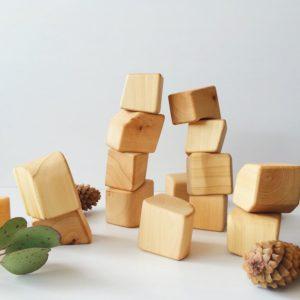 Некубики натуральные Raduga Grez (RG02001) - купить по выгодной цене с доставкой по всей России, в магазине детских игрушек.