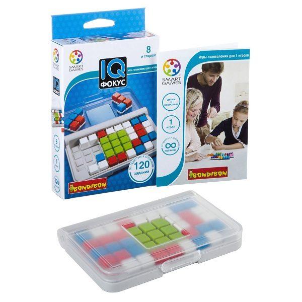 Логическая игра Bondibon IQ-Фокус купить недорого в Москве с доставкой
