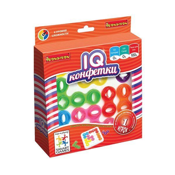 Логическая игра Bondibon IQ-Конфетки купить недорого в Москве с доставкой