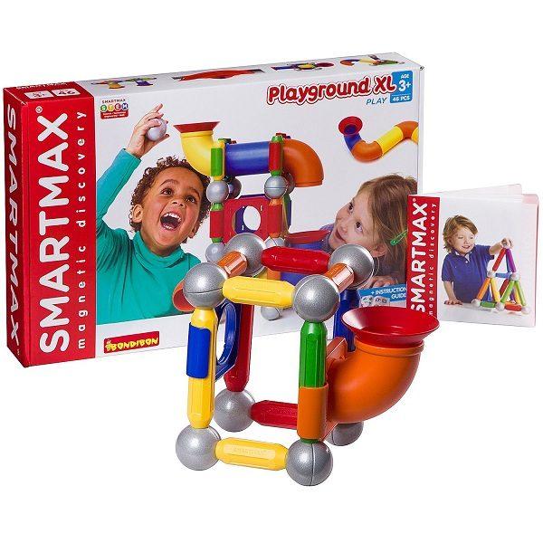 Магнитный конструктор SmartMax набор: Большая игровая площадка купить недорого в Москве с доставкой