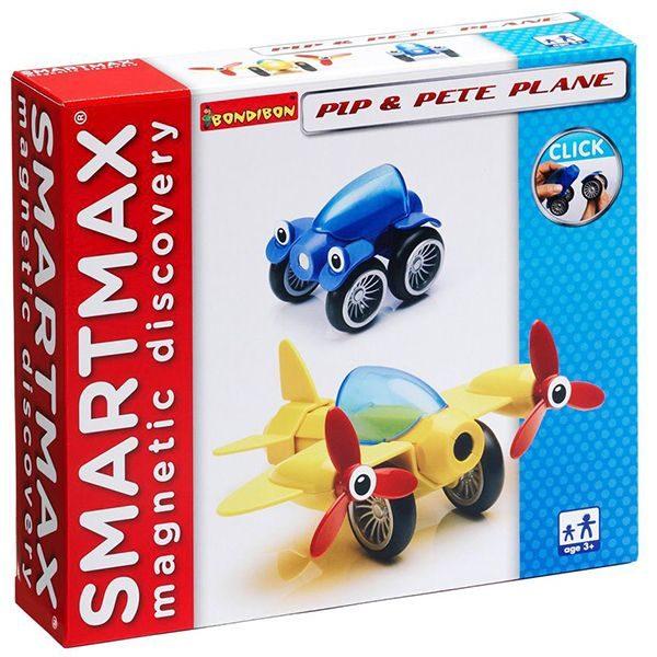 Магнитный конструктор SmartMax Набор: Пип и самолётик Пит купить недорого в Москве с доставкой