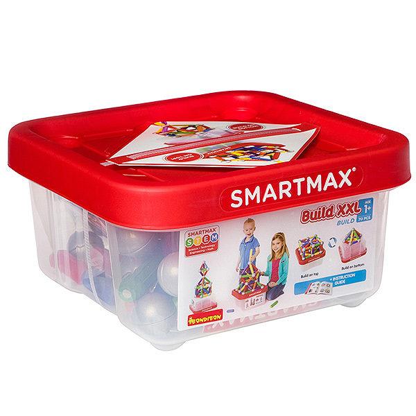 Магнитный конструктор SmartMax Основной набор XXL 70 дет. купить недорого в Москве с доставкой