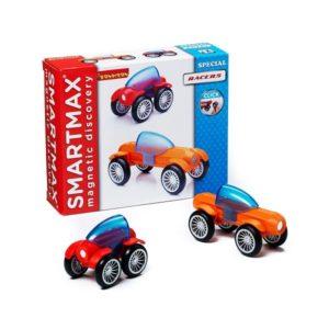 Магнитный конструктор SmartMax Специальный набор: Гонщики купить недорого в Москве с доставкой