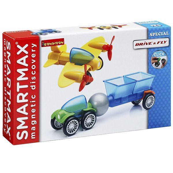 Магнитный конструктор SmartMax Специальный набор: На земле и воздухе купить недорого в Москве с доставкой