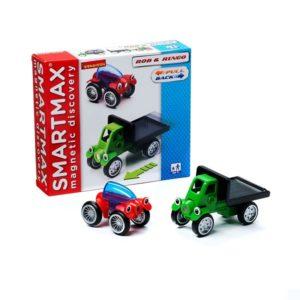 Магнитный конструктор SmartMax Специальный набор: Роб и Ринго купить недорого в Москве с доставкой