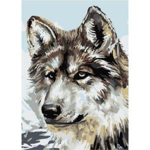 Картина по номерам Серый волк купить недорого в интернет-магазине игрушек с доставкой по Москве. Инструкция, полные характеристики, отзывы, скидки.